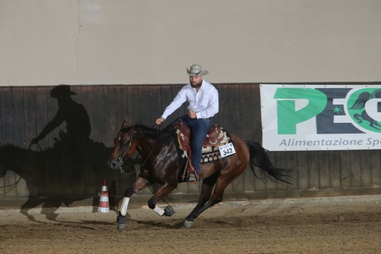 4 tappa TRHA 2019 - D'ASCANIO SIMONE & DEALIN THE ROOSTER score 70