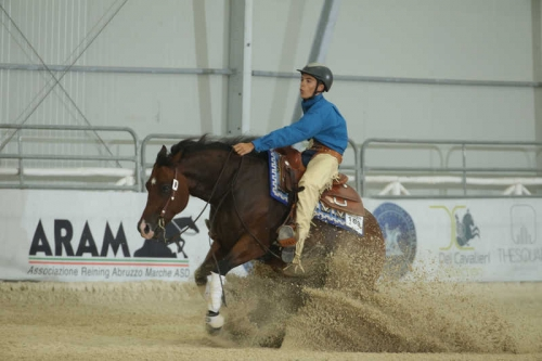 FRANCESCO FRESCHI sul suo ROYAL ICE FORCE con score 211,5
